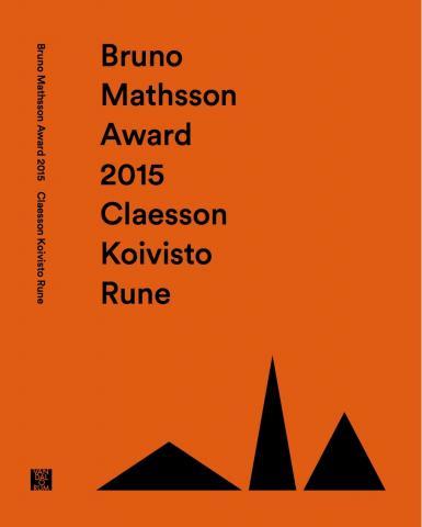 Bruno Mathsson Award 2015: Claesson Koivisto Rune av Hedvig Hedqvist